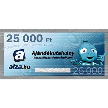 Elektronický dárkový poukaz Alza.hu na nákup zboží v hodnotě 25000 HUF