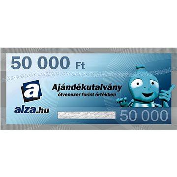 Elektronický dárkový poukaz Alza.hu na nákup zboží v hodnotě 50000 HUF