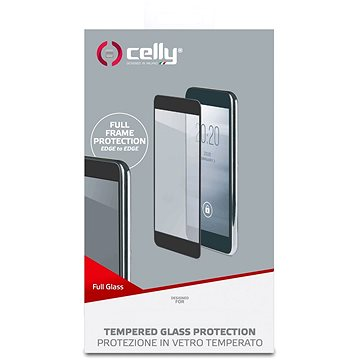 CELLY Full Glass pro Samsung Galaxy J6+ černé (FULLGLASS789BK)