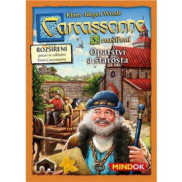 Carcassonne – Opatství a starosta 5. rozšíření (8595558300044)