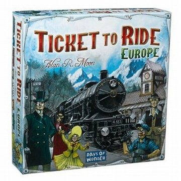 Ticket To Ride - Europe (824968517222)
