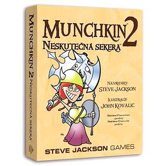 Munchkin 2. rozšíření – Neskutečná sekera (8594054911402)