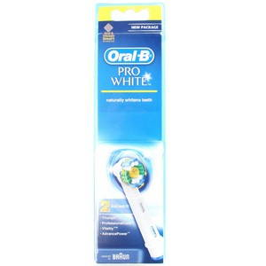 BRAUN Oral-B extra brushes 3D White 2ks (849308)