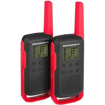 Motorola TLKR T62, červené (B6P00811RDRMAW)