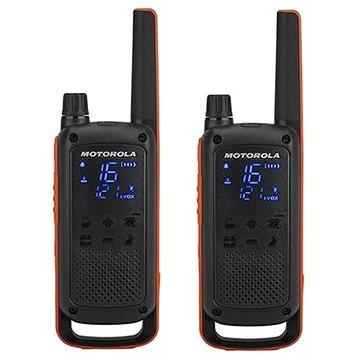 Motorola TLKR T82, oranžová/černá (5031753007232)