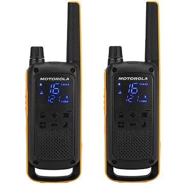 Motorola TLKR T82 Extreme, žlutá/černá (5031753007171)