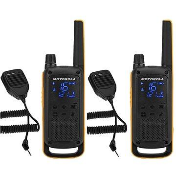 Motorola TLKR T82 Extreme, RSM Pack, žlutá/černá (5031753007195)