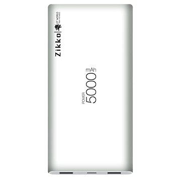 Zikko 5000mAh externí baterie Lightning & micro USB - White (HY-ET5000-WC)