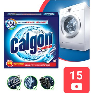 Změkčovač vody CALGON Tabs 15 ks (5997321701813)