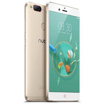 Nubia Z17 mini Dual SIM 4 GB + 64 GB Gold (6902176901065) + ZDARMA Digitální předplatné Interview - SK - Roční předplatné Mobilní telefon eSTAR A18 Dual SIM Black Digitální předplatné Týden - roční