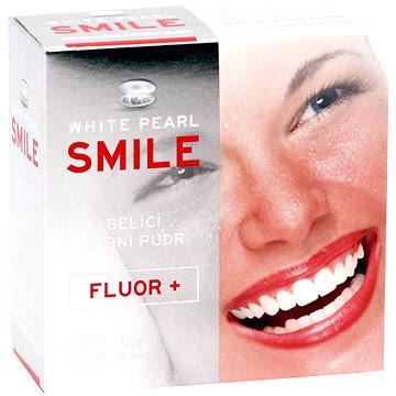 Bělící pudr WHITE PEARL Smile Fluor+ 30 g (8594069330014)