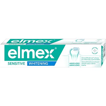 Zubní pasta ELMEX Sensitive Whitening 75 ml (8714789926278)