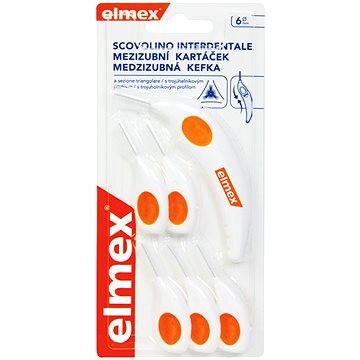 Mezizubní kartáčky ELMEX Mezizubní kartáčky 6 mm (6 ks) (7610108051090)