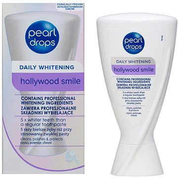 Zubní pasta PEARL DROPS Hollywood Smile 50 ml (5010724526484)