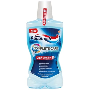 Ústní voda AQUAFRESH Complete Care 500 ml (5054563003225)