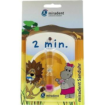 Hodiny MIRADENT Přesýpací hodiny pro měření doby čištění zubů (4250107600689)
