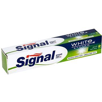 Zubní pasta SIGNAL White System Naturals 75 ml (8717644084830)