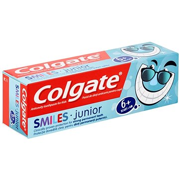 Zubní pasta COLGATE Smiles Junior 6+ 50 ml (8718951096318)