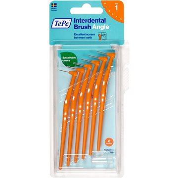 Mezizubní kartáčky TEPE Angle 0,45 mm oranžový 6 ks (7317400011509)