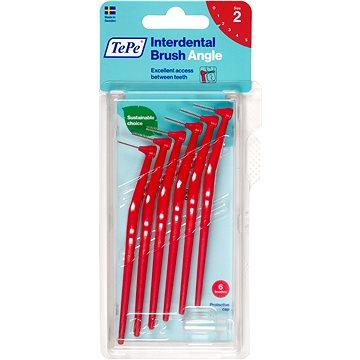 Mezizubní kartáčky TEPE Angle 0,5 mm červený 6 ks (7317400011530)