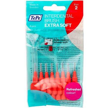 Mezizubní kartáčky TEPE Extra Soft 0,5 mm červený 8 ks (7317400002330)
