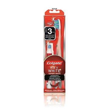 Kartáček na zuby COLGATE Max White Expert White zubní kartáček + bělící pero (8718951056039)