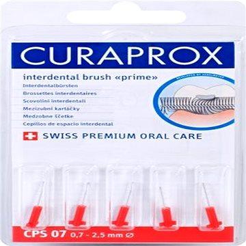 Mezizubní kartáčky CURAPROX Prime Refill 2,5 mm red 5 ks - náhrada (7612412007008)