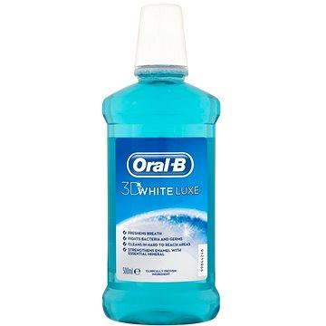 Ústní voda ORAL-B 3D White Luxe 500 ml (5410076238255)