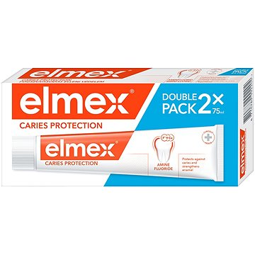 Zubní pasta ELMEX Caries Protection duopack 2 × 75 ml (8714789992204)
