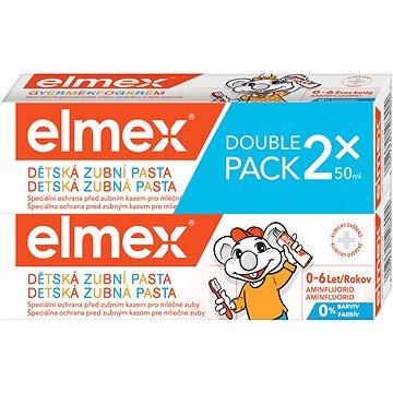 Zubní pasta ELMEX Kids duopack 2 × 50 ml (8714789966526)