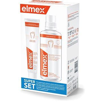 ELMEX Caries Protection Ústní voda + zubní pasta (8714789994185)