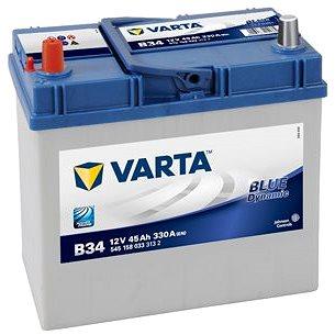 VARTA BLUE Dynamic 45Ah, 12V, B34 (B34)