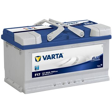 VARTA BLUE Dynamic 80Ah, 12V, F17