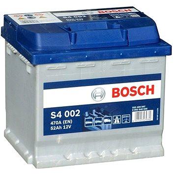 BOSCH S4 002, 52Ah, 12V (0 092 S40 020) (S4 002)