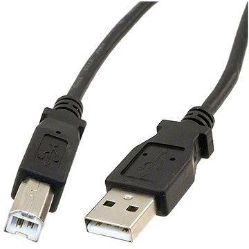 PremiumCord USB 2.0 5m propojovací černý (ku2ab5bk)