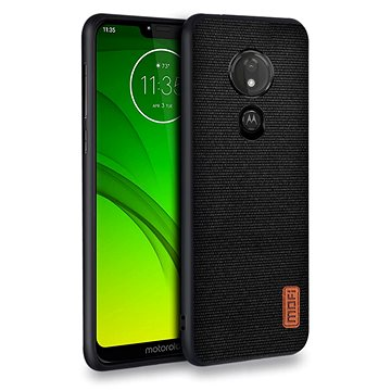 MoFi Fabric Back Cover Motorola G7 Power Černé (OEYX1748black)