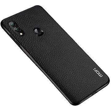 MoFi Litchi PU Leather Case Samsung Galaxy A40 Černé (OEYX1778black)