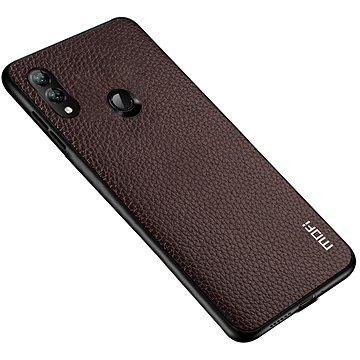 MoFi Litchi PU Leather Case Samsung Galaxy A40 Hnědé (OEYX1778brown)