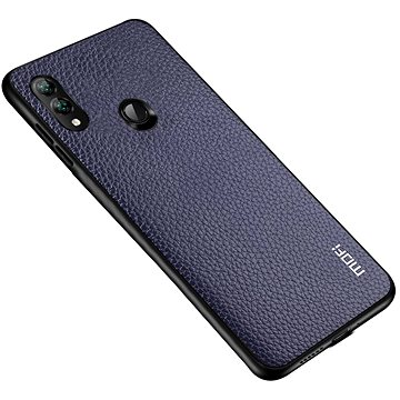 MoFi Litchi PU Leather Case Samsung Galaxy A40 Modré (OEYX1778blue)