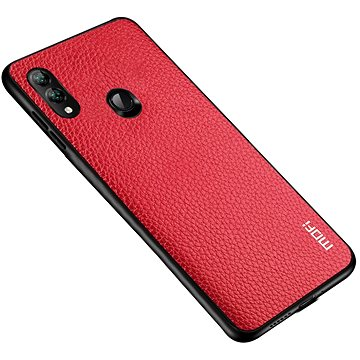 MoFi Litchi PU Leather Case Samsung Galaxy A40 Červené (OEYX1778red)