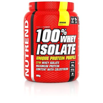 Nutrend 100% Whey Isolate, 900 g (nadSPTnut0265)