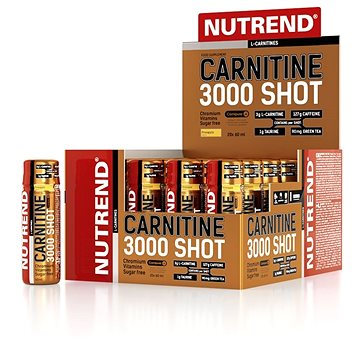 Nutrend Carnitine 3000 SHOT, 20x60 ml (nadSPTnut0286)