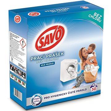 SAVO bílé prádlo 3,5 kg (50 praní) (8710447398487)