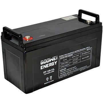 GOOWEI ENERGY OTL120-12, baterie 12V, 120Ah, DEEP CYCLE (OTL120-12)