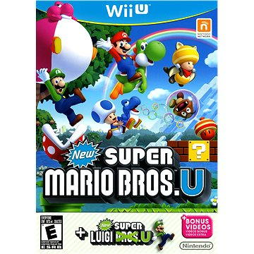Nintendo Wii U - New Super Mario Bros. + New Super Luigi
