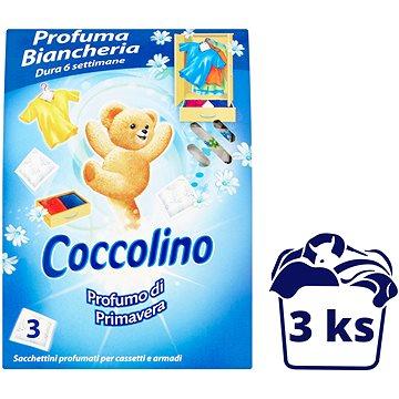 Osvěžovač vzduchu COCCOLINO Primavera vůně do skříně 3ks (8000660310282)
