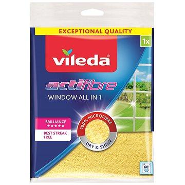 VILEDA Actifibre mikrohadřík na okna 1 ks (32x36cm) (4023103195929)